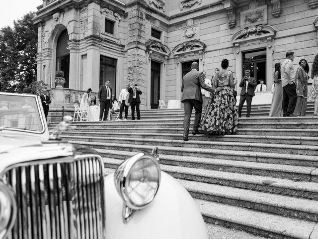 Il matrimonio di Jaspal e Reena a Cernobbio, Como 74