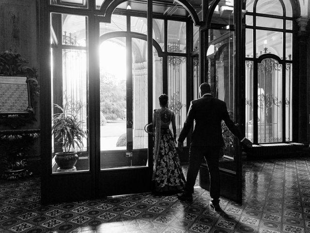 Il matrimonio di Jaspal e Reena a Cernobbio, Como 77