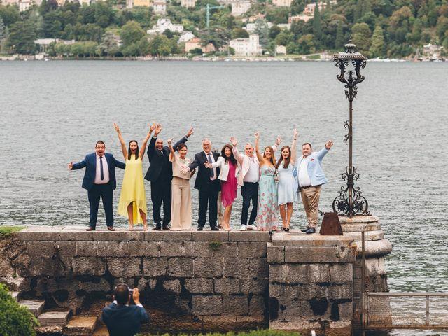 Il matrimonio di Jaspal e Reena a Cernobbio, Como 90