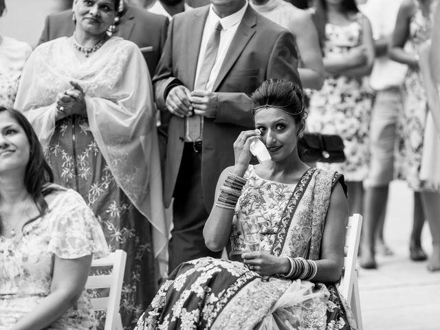 Il matrimonio di Jaspal e Reena a Cernobbio, Como 93