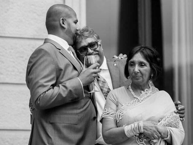 Il matrimonio di Jaspal e Reena a Cernobbio, Como 99