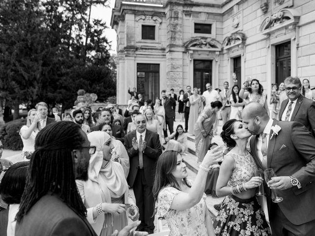 Il matrimonio di Jaspal e Reena a Cernobbio, Como 106