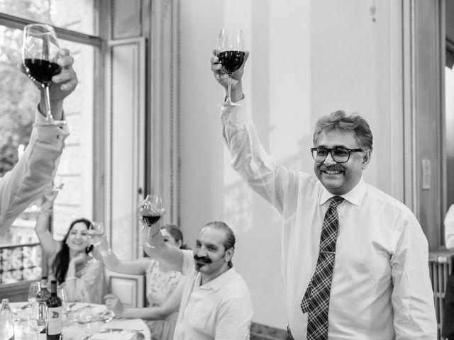 Il matrimonio di Jaspal e Reena a Cernobbio, Como 109