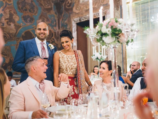 Il matrimonio di Jaspal e Reena a Cernobbio, Como 114