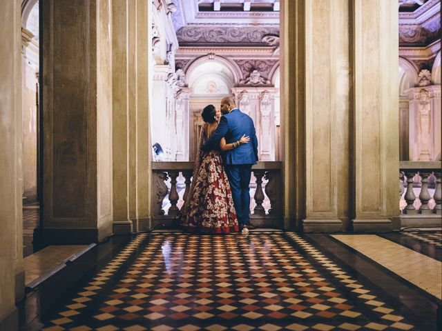 Il matrimonio di Jaspal e Reena a Cernobbio, Como 121