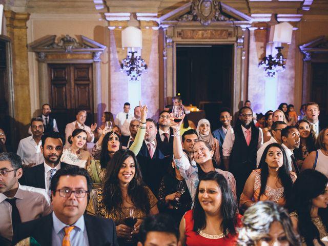 Il matrimonio di Jaspal e Reena a Cernobbio, Como 123