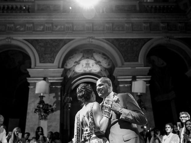 Il matrimonio di Jaspal e Reena a Cernobbio, Como 129