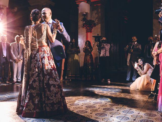 Il matrimonio di Jaspal e Reena a Cernobbio, Como 130