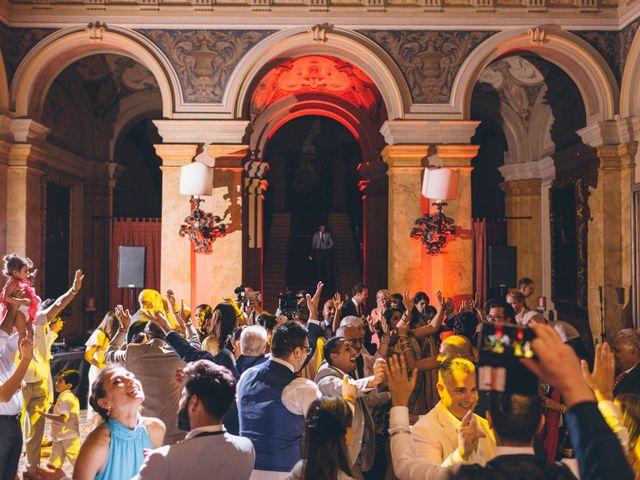 Il matrimonio di Jaspal e Reena a Cernobbio, Como 131