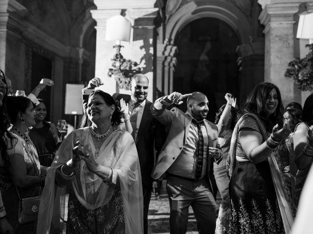 Il matrimonio di Jaspal e Reena a Cernobbio, Como 132