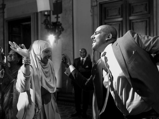 Il matrimonio di Jaspal e Reena a Cernobbio, Como 133