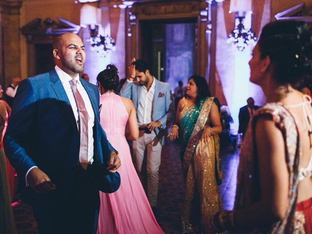 Il matrimonio di Jaspal e Reena a Cernobbio, Como 143
