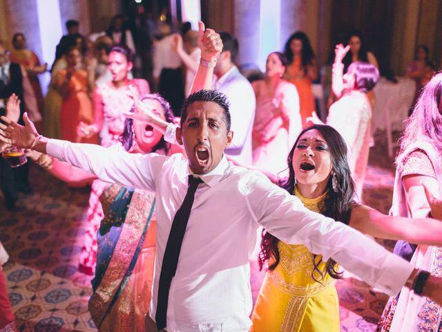 Il matrimonio di Jaspal e Reena a Cernobbio, Como 149