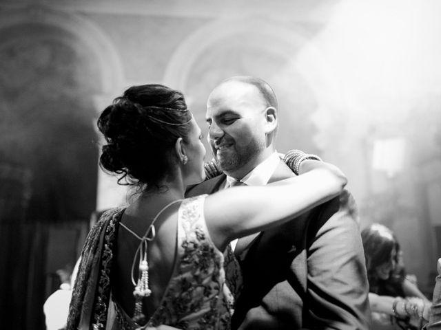 Il matrimonio di Jaspal e Reena a Cernobbio, Como 153
