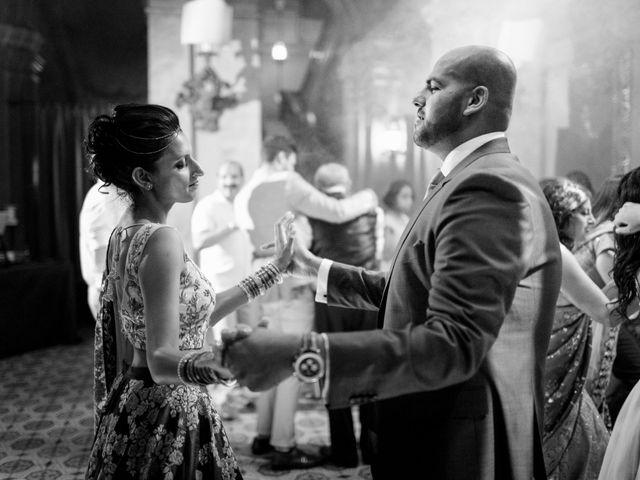 Il matrimonio di Jaspal e Reena a Cernobbio, Como 155