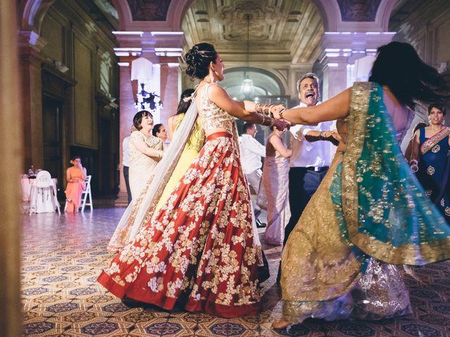 Il matrimonio di Jaspal e Reena a Cernobbio, Como 161