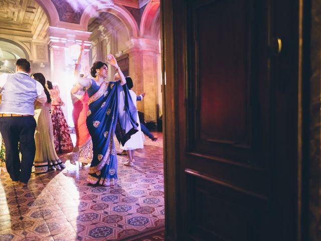Il matrimonio di Jaspal e Reena a Cernobbio, Como 162