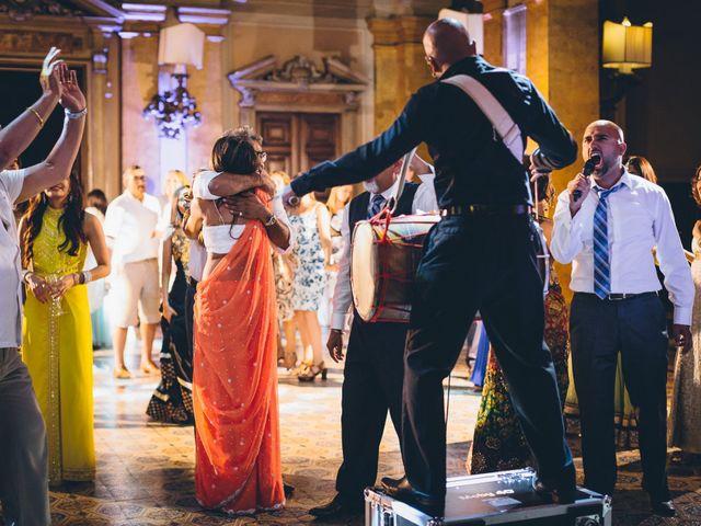 Il matrimonio di Jaspal e Reena a Cernobbio, Como 167
