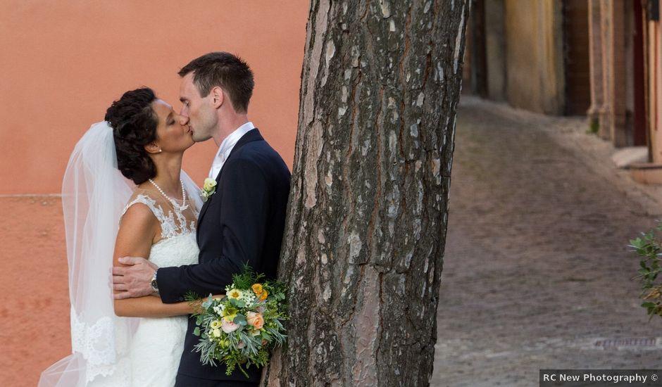 Il matrimonio di Martin-Nils e Elena a Camerino, Macerata