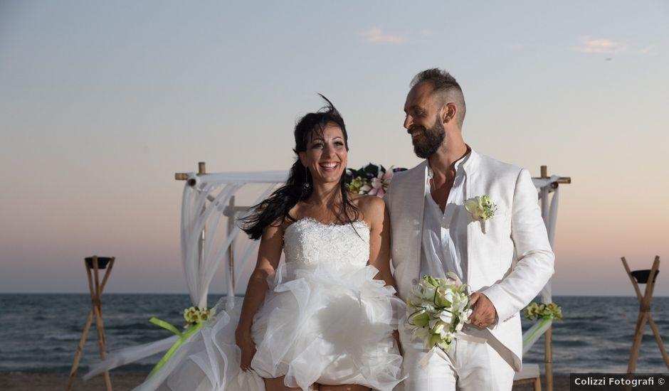 Il matrimonio di Antonio e Chiara a Fiumicino, Roma