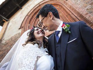 Le nozze di Claudia e Cristiano