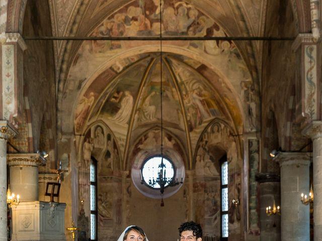 Il matrimonio di Giorgio e Elisa a Gornate-Olona, Varese 22
