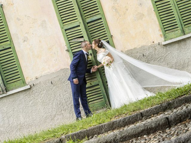 Il matrimonio di Andrea e Adele a Sesto Calende, Varese 7