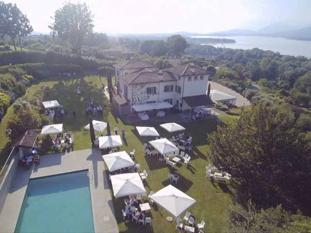 Il matrimonio di Andrea e Adele a Sesto Calende, Varese 10