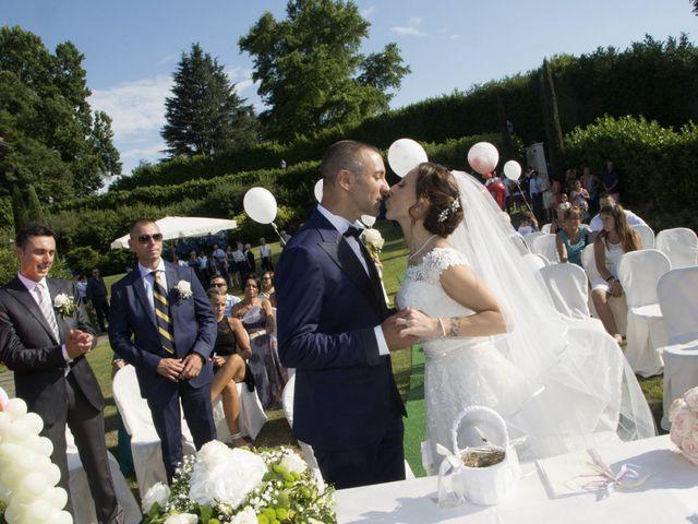 Il matrimonio di Andrea e Adele a Sesto Calende, Varese 11