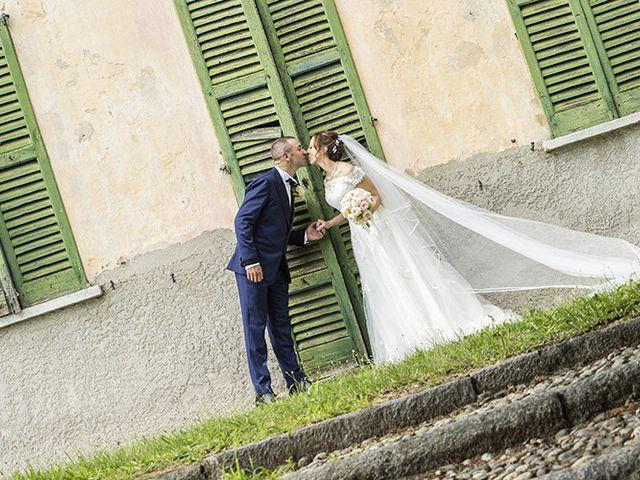 Il matrimonio di Andrea e Adele a Sesto Calende, Varese 1