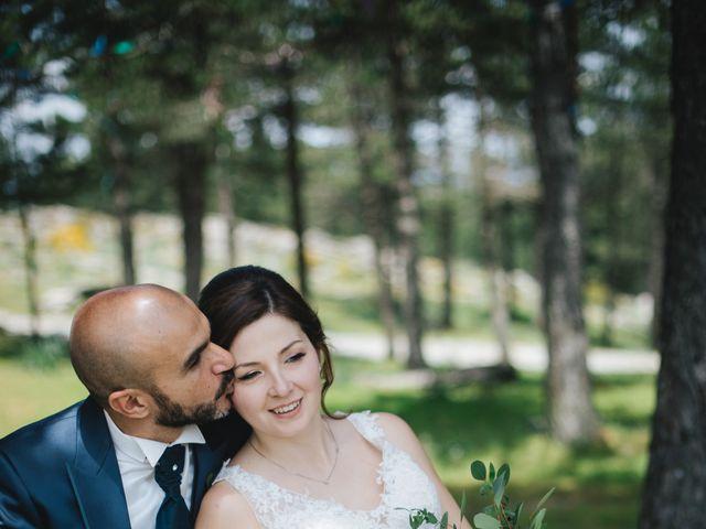 Il matrimonio di Marco e Rossella a Esterzili, Nuoro 36