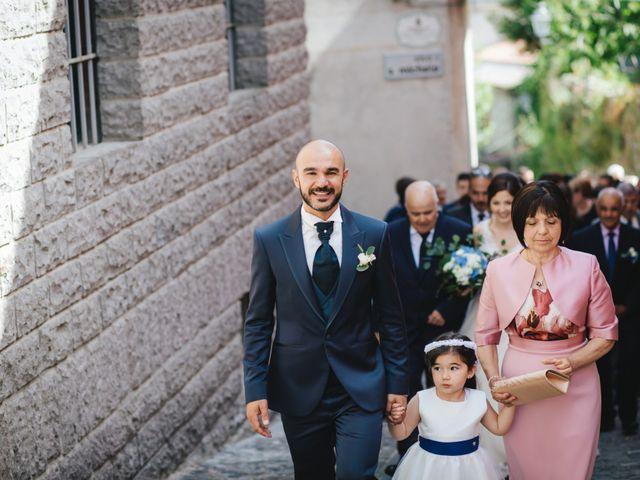 Il matrimonio di Marco e Rossella a Esterzili, Nuoro 63