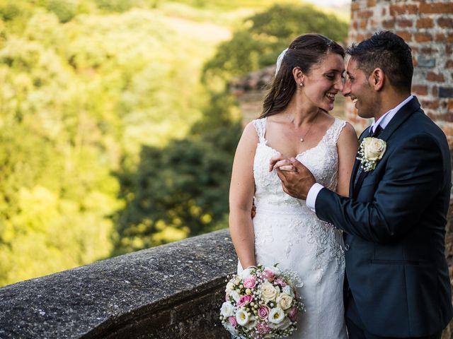 Il matrimonio di Giuseppe e Giovanna a Torricella Verzate, Pavia 1