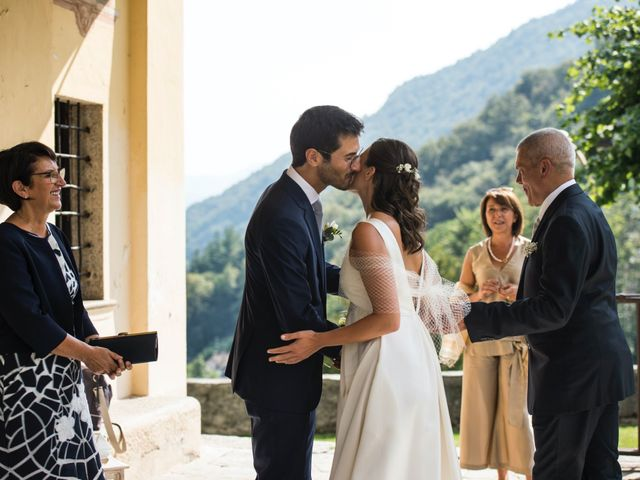 Il matrimonio di Massimo e Serena a Orta San Giulio, Novara 17