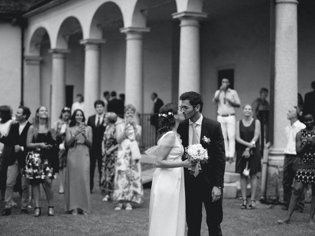 Il matrimonio di Massimo e Serena a Orta San Giulio, Novara 34