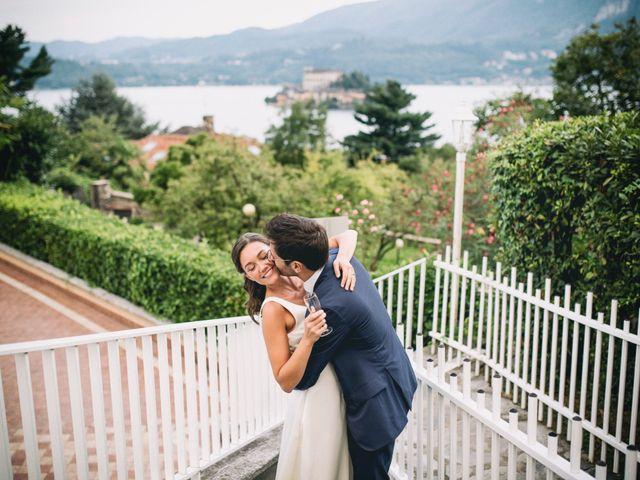 Il matrimonio di Massimo e Serena a Orta San Giulio, Novara 50
