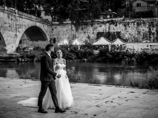 Il matrimonio di Tommaso e Francesca a Roma, Roma 18