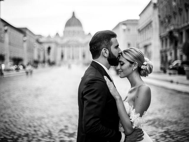 Il matrimonio di Tommaso e Francesca a Roma, Roma 21