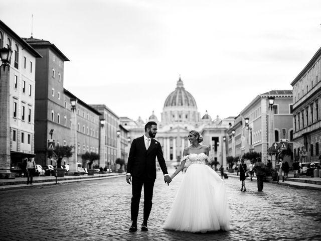 Il matrimonio di Tommaso e Francesca a Roma, Roma 22