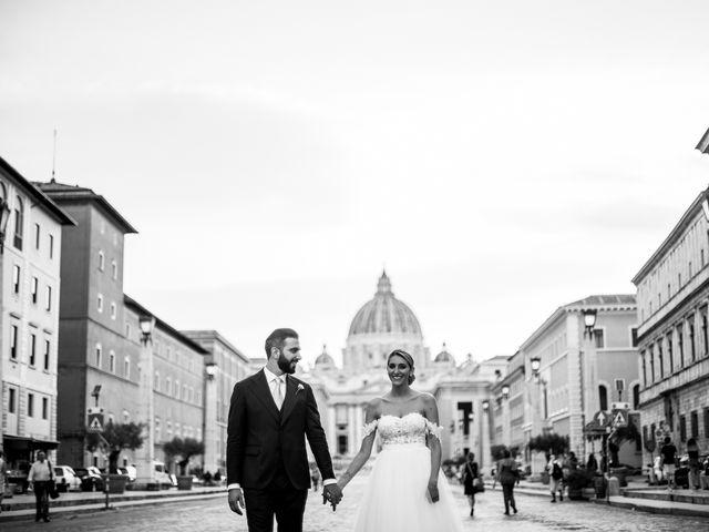 Il matrimonio di Tommaso e Francesca a Roma, Roma 23