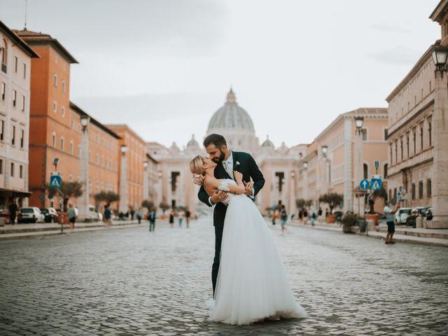Il matrimonio di Tommaso e Francesca a Roma, Roma 24