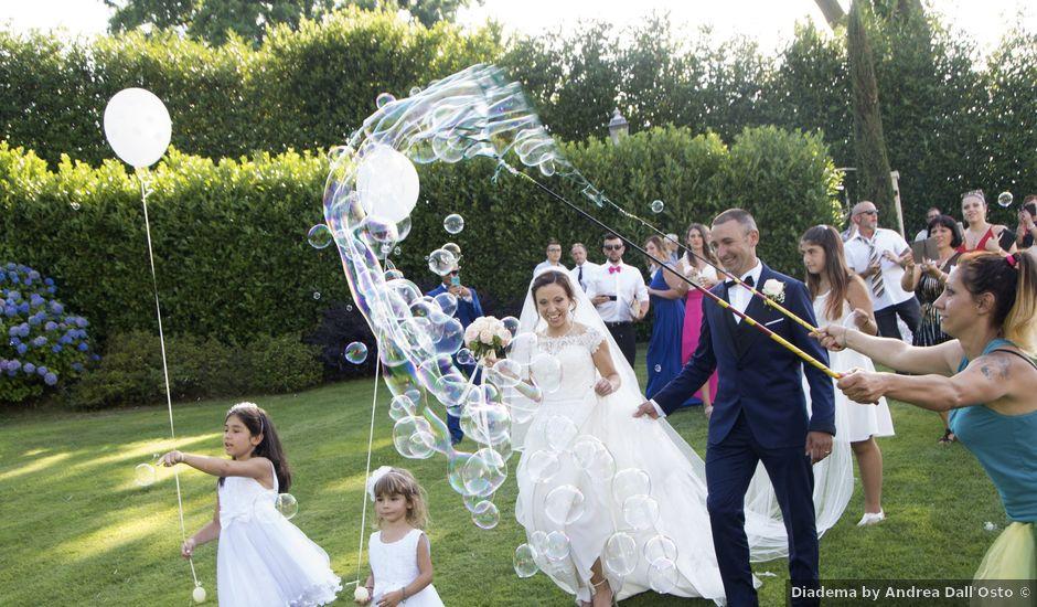 Il matrimonio di Andrea e Adele a Sesto Calende, Varese