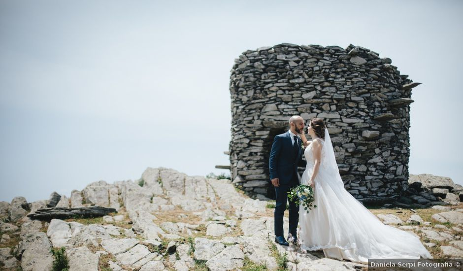 Il matrimonio di Marco e Rossella a Esterzili, Nuoro
