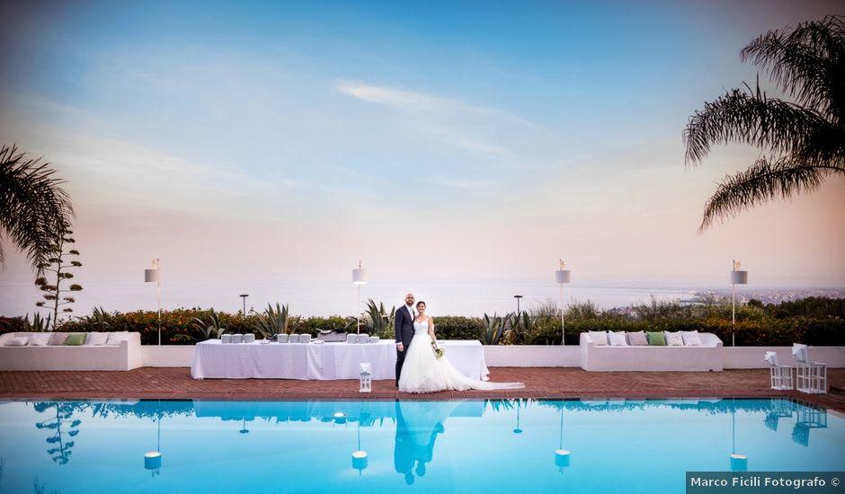 Il matrimonio di Claudia e Giuseppe a Catania, Catania