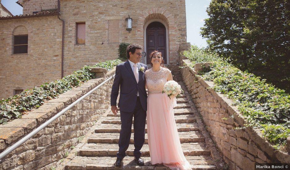 Il matrimonio di Aurelio e Cinzia a Staffolo, Ancona