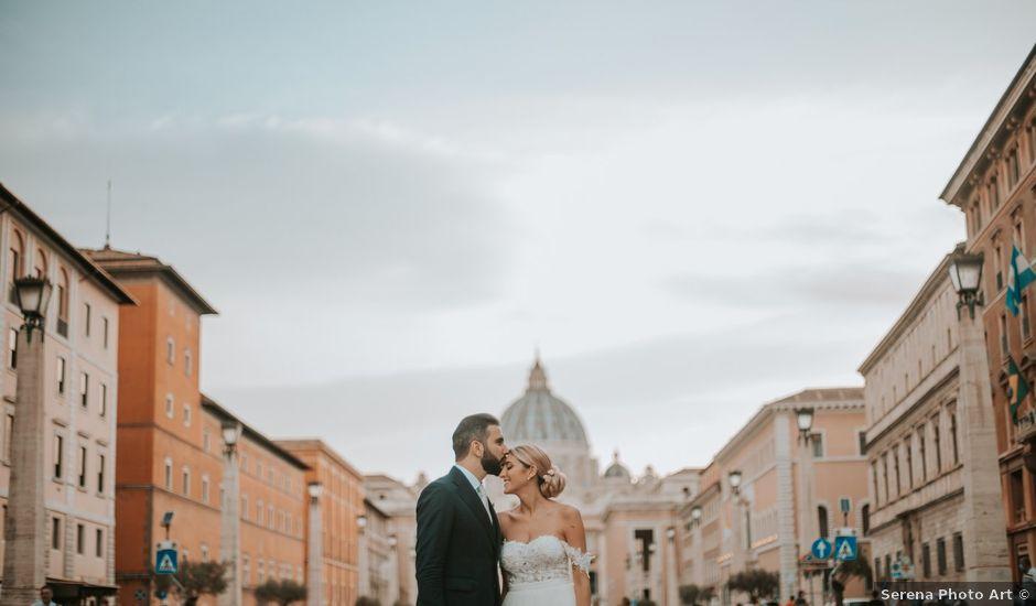 Il matrimonio di Tommaso e Francesca a Roma, Roma