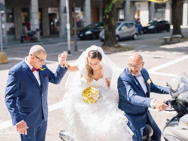 Il matrimonio di Calogero e Arianna a Castellanza, Varese 26