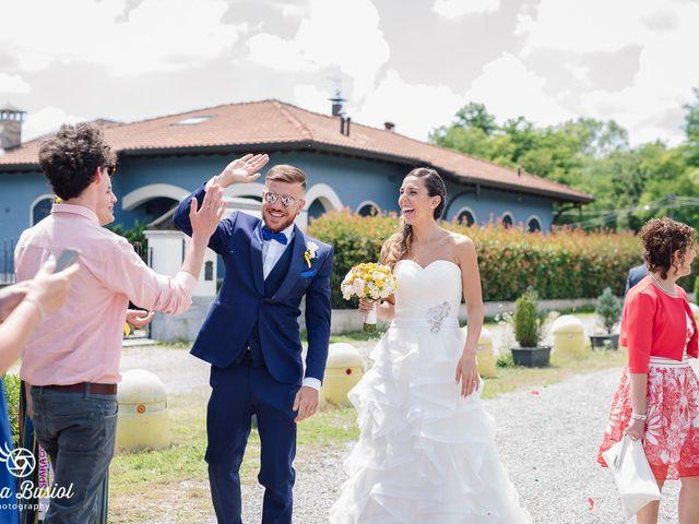 Il matrimonio di Calogero e Arianna a Castellanza, Varese 37