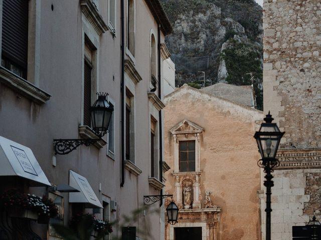 Il matrimonio di Cameron e Michelle a Taormina, Messina 53