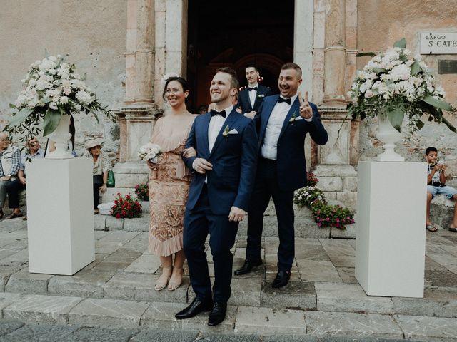 Il matrimonio di Cameron e Michelle a Taormina, Messina 86